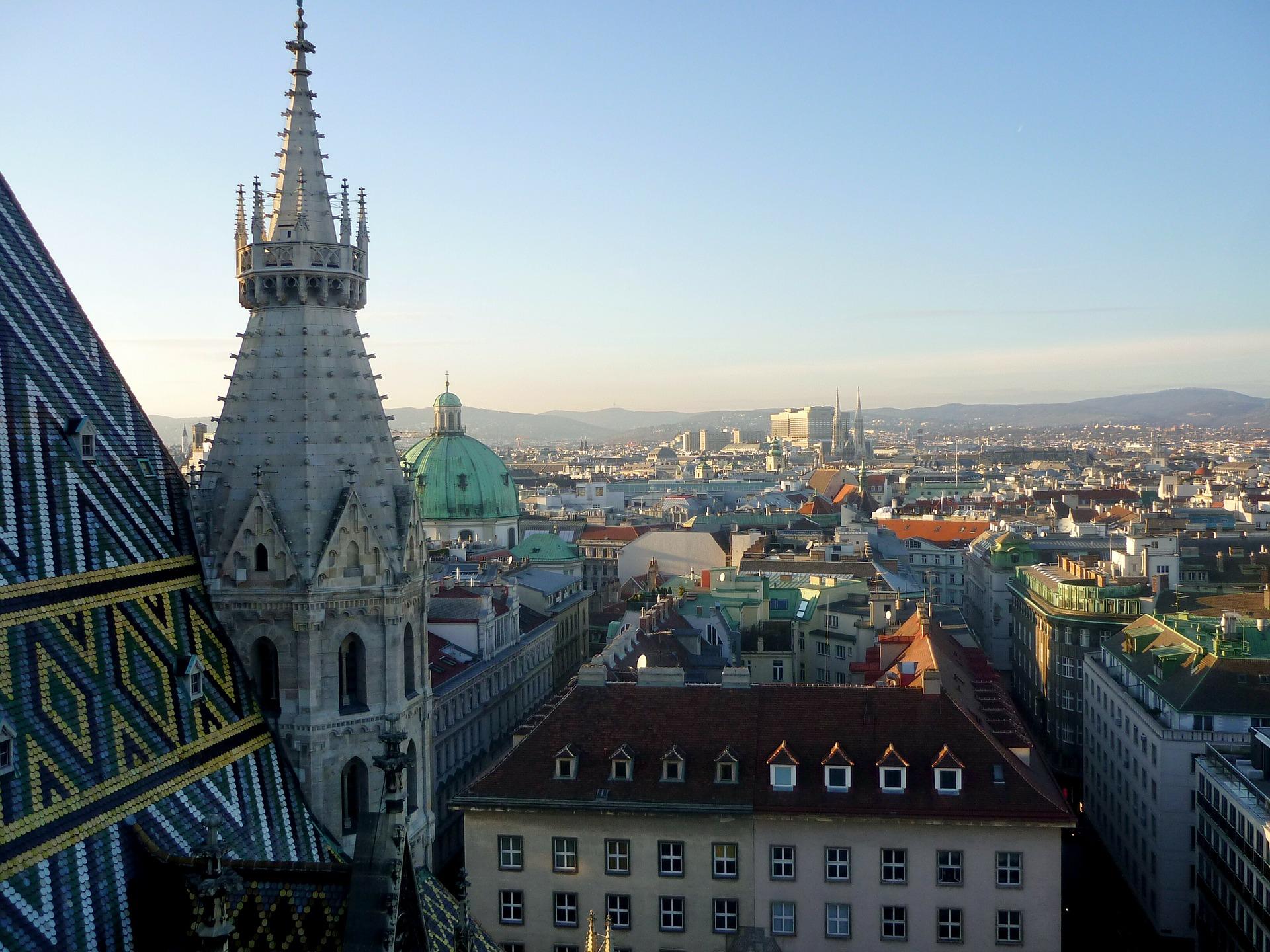 Tourist*in in der eigenen Stadt (Wien)